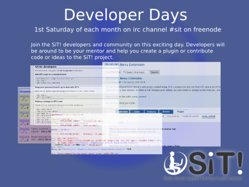 sitracker developer day banner
